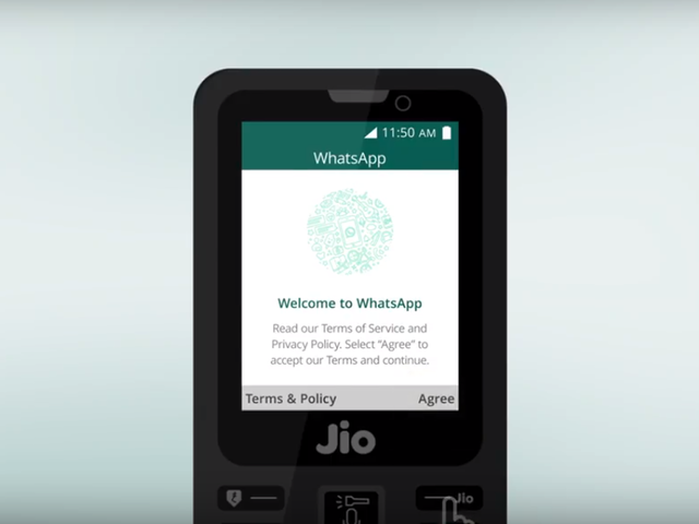 jio phone: How to download WhatsApp on Jio Phone | Gadgets Now