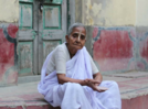 The difficult life of a widow in India