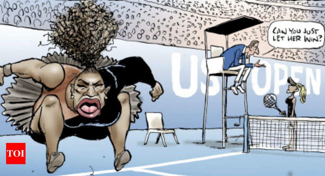 serena williams cartoon australian cartoonist faces backlash after