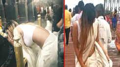 Model dances inside Ujjain's Mahakaleshwar temple, video goes viral
