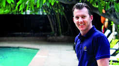 Black magic does not heal hearing impairment: Brett Lee
