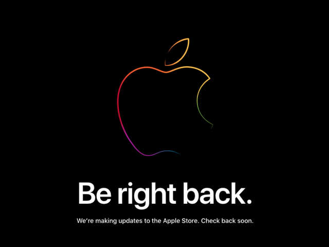iPhone 2018 launch: Apple Store goes down