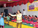 Celebration of Paryushan amidst devotional songs