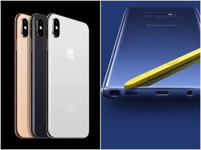iPhone Xs Max vs Galaxy Note 9: How Apple's biggest phone compares to Samsung's