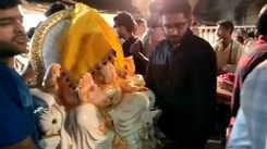 Mumbaikars welcome Lord Ganesha on occasion of Ganesh Chaturthi