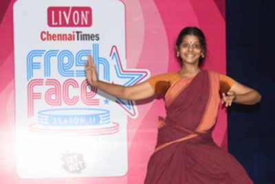 Malarvili announced winner of Livon Times Fresh Face audition in Chennai