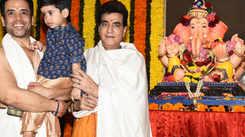 Watch: Celebrities welcome Lord Ganesha home