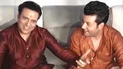Govinda, Varun Sharma promote their upcoming movie 'Fryday'