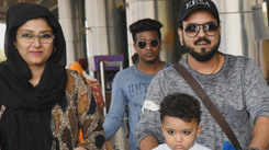 Singer-music composer Toshi Sabri visits Jaipur with family to celebrate Muharram