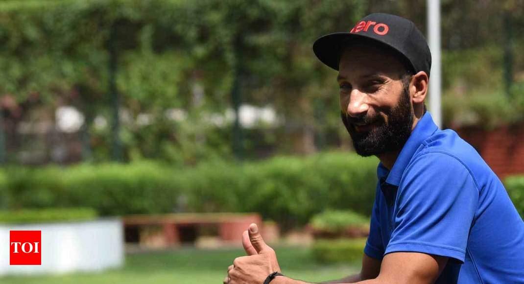 After ending hockey career, Sardar Singh eyes professional golf - Times of India