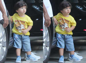 Taimur loves Maldives and his t-shirt is proof!