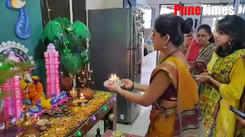 Ganesh arati at Mrunmayee and Gautami Deshpande's home