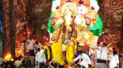Ganesh Chaturthi: Devotees seek blessings at Lalbaugcha Raja