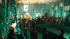 Krishna theme garners praises from Nagpur revellers