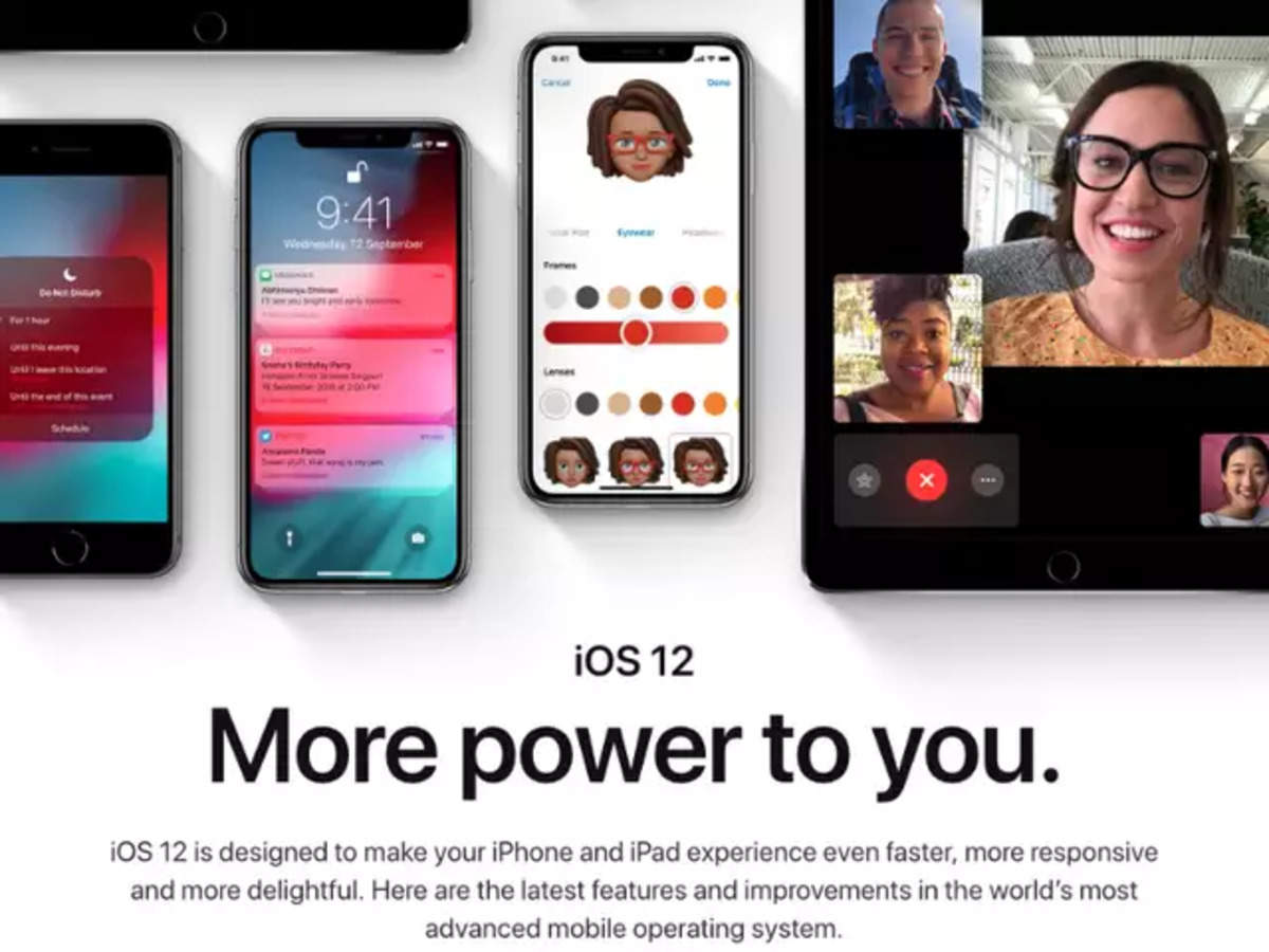 Apple iOS 12 update: How to download | Gadgets Now