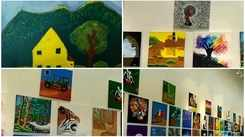Exhibition in Kochi showcases art through the eyes of students