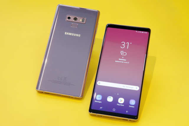 Samsung Galaxy Note 9 burst into flames inside woman's