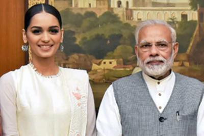 Manushi Chhillar wishes PM Modi on his birthday