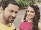 Photo: Nirahua and Amrapali Dubey's 'Jai-Veeru' selfie