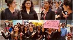 Students organise a rally dedicated to homemakers and their sacrifices