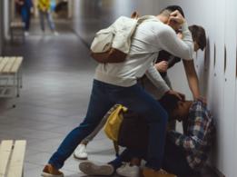 Witnessing violence in school as bad as being bullied