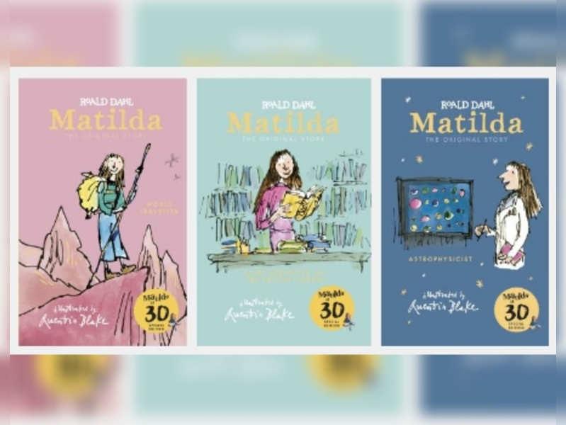 Matilda special celebratory covers; Image: Penguin Random House