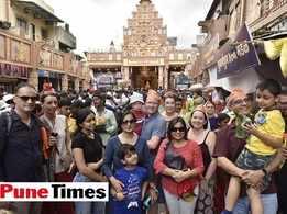Expats join the Ganpati festivities in Pune