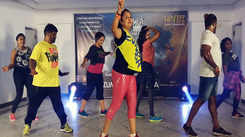 Coimbatore Zumba instructors' performance