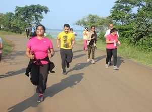 Bhopal Runners start their day with a dose of Fitness