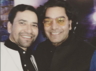 "Nirahua's selfie with his ""favourite actor"" Ashutosh Rana"