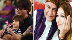 SRK trolled after sharing AbRam's Ganeshotsav pic; Jasleen Matharu's dad reacts to her relationship with Anup Jalota, and more…