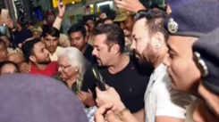 Bollywood actor Salman Khan spotted in Jaipur with Iulia Vantur