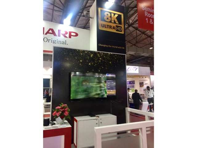 Sharp launches 8K Professional Display in India