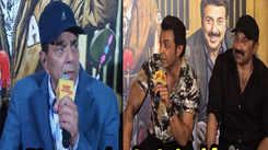 Superstar Dharmendra feels bad for 'poor star sons'