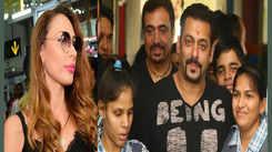Salman Khan inaugurates center for special children with Iulia Vantur