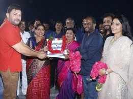 Arvind Swami & Regina starts their new film 'Kallapart'