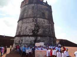 Rally on Tourism at Fort Aguada