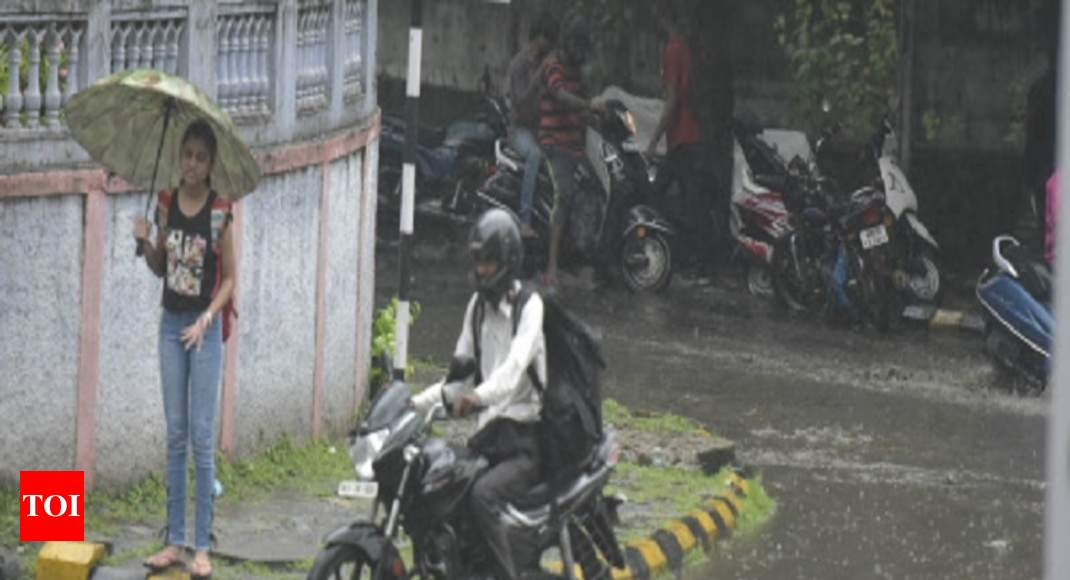 Parts of Mumbai witnesses significant rains | Mumbai News