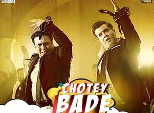 'Fryday' song: 'Chotey Bade' is a high octane bromance number featuring Govinda and Varun Sharma