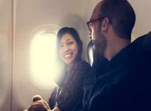 1 out of 50 people find love in flight