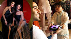 Sunny Leone's wax figure is India's first scented statue; Taimur's Ganeshotsav videos go viral, and more…