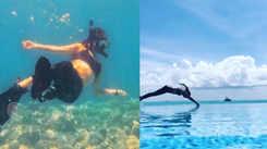 Watch: Sonakshi Sinha enjoys holidays in Maldives