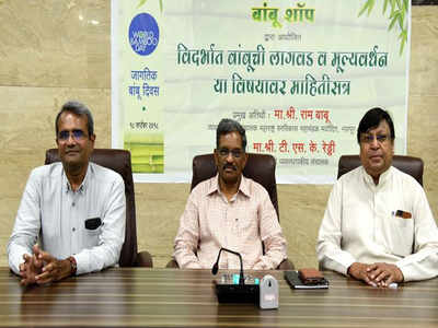 Mass bamboo cultivation can lessen burden on economy' | Nagpur News