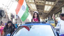 Miss Diva Supranational 2018 Aditi Hundia comes home to a superstar's welcome