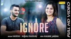 Latest Haryanvi Song Ignore Sung By Harish