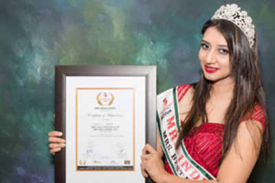 City beauty bags laurels at national level pageant