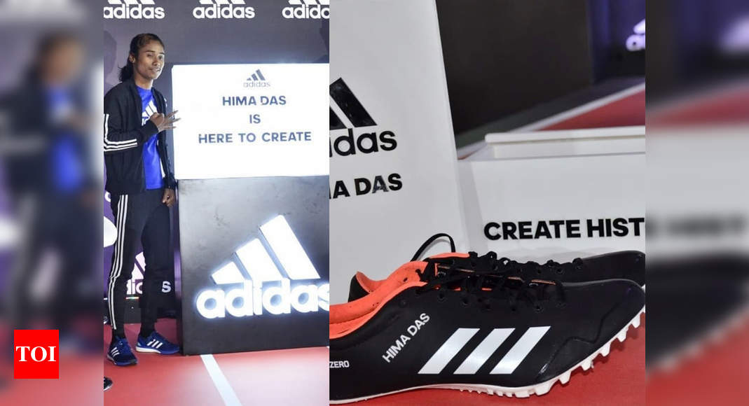 Hima Das From Running Barefoot To Having Her Name On Adidas Shoes More Sports News Times Of India