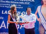 Yamaha Fascino Miss Diva Universe 2018 Nehal Chudasama