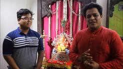 Waliokar family installs a homemade Ganesha