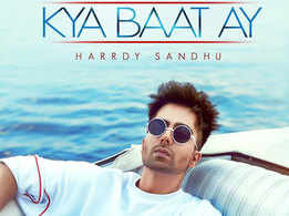 Kya Baat Ay: Harrdy Sandhu shares the poster of his next single